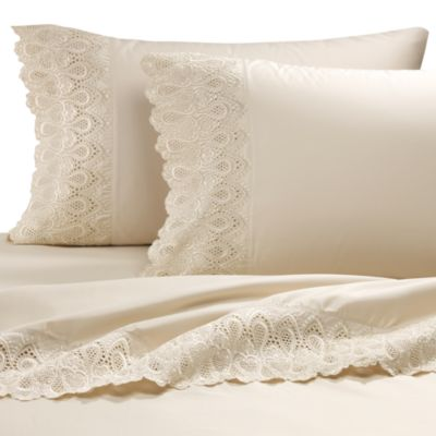 Easy-Care Lace Standard Pillowcase (Set of 2)