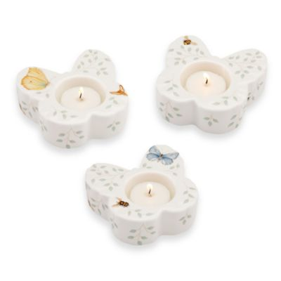 Lenox® Butterfly Meadow® Butterfly Votives (Set of 3)