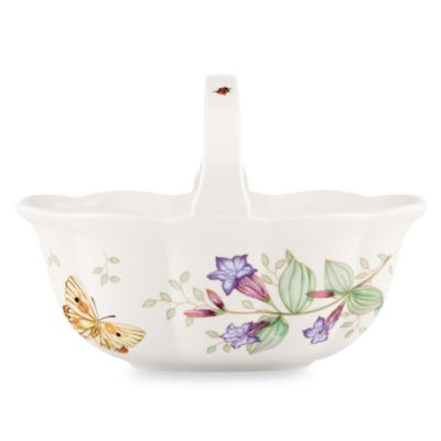 Lenox® Butterfly Meadow® Handled Basket