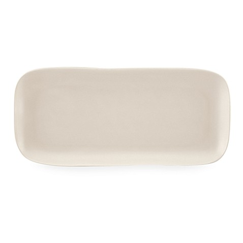 Donna Karan Lenox® Casual Luxe Pearl 14 1/2-Inch L Hors D'oeuvres Tray