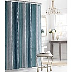 Manor Hill® Sierra Sapphire 72-Inch x 72-Inch Fabric Shower Curtain