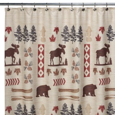 North Ridge 70-Inch W x 72-Inch L Shower Curtain