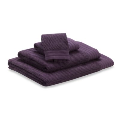 Soho Wash Cloth in Purple