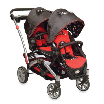 Double Strollers > Contours® Optima® Double Tandem Stroller in Berkeley