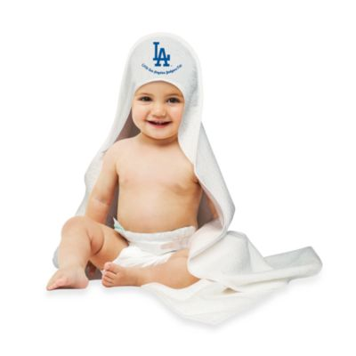 MLB Hooded Baby Towel in Los Angeles Dodgers
