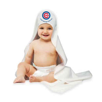 MLB Hooded Baby Towel in Chicago Cubs