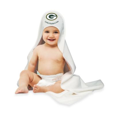 NFL Hooded Baby Towel in Green Bay Packers