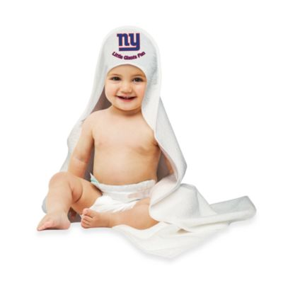 NFL Hooded Baby Towel in New York Giants