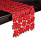 Poinsettia Cluster 72-Inch Table Runner