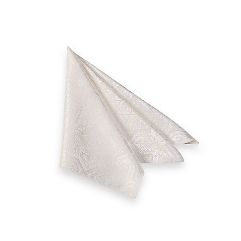 Shalom Ivory Napkins (Set of 4)