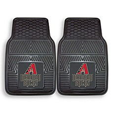 MLB Arizona Diamondbacks Vinyl Car Mats (Set of 2)
