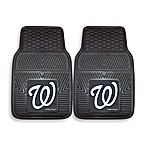 MLB Washington Nationals Vinyl Car Mats (Set of 2)