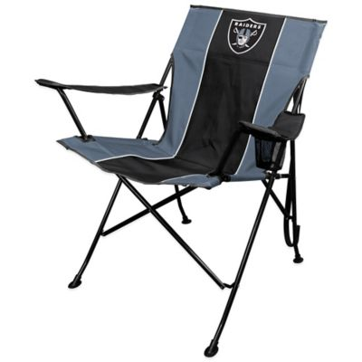 Coleman® NFL Oakland Raiders Deluxe Quad Chair
