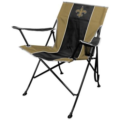 NFL New Orleans Saints Deluxe Quad Chair