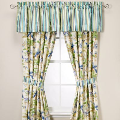 Lagoon 84-Inch Window Curtain Panel Pair
