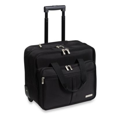 Geoffrey Beene Rolling Business Case in Black