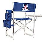 Picnic Time® University of Arizona Collegiate Folding Sports Chair in Navy Blue