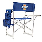 Picnic Time® University of Illiniois Collegiate Folding Sports Chair in Navy Blue