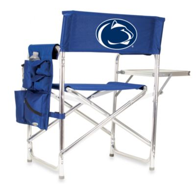Picnic Time® Penn State Collegiate Folding Sports Chair in Navy Blue