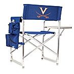 Picnic Time® University of Virginia Collegiate Folding Sports Chair in Navy Blue