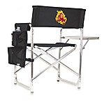 Picnic Time® Arizona State Collegiate Folding Sports Chair in Black