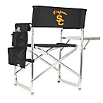 Picnic Time® University of Southern California Collegiate Folding Sports Chair in Black