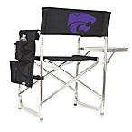 Picnic Time® Kansas State University Collegiate Folding Sports Chair in Black