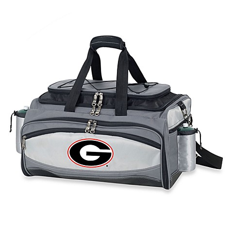 Picnic Time® Collegiate Vulcan BBQ & Cooler Set - University of Georgia