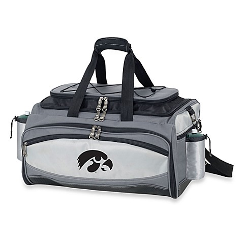 Picnic Time® Collegiate Vulcan BBQ & Cooler Set - University of Iowa