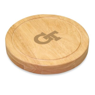 Picnic Time® Georgia Tech Collegiate Circo Cutting Board
