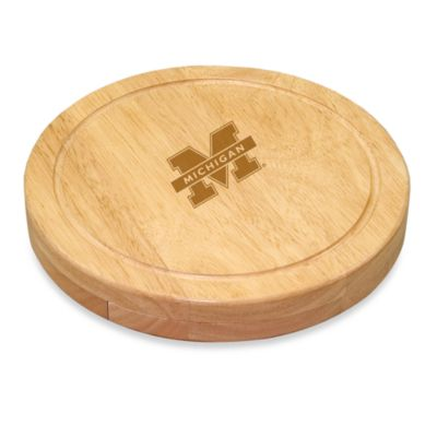 Picnic Time® University of Michigan Collegiate Circo Cutting Board
