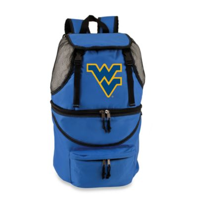 Picnic Time® West Virginia University Collegiate Zuma Insulated Cooler Backpack in Blue