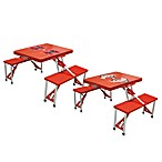 Picnic Time® Collegiate Foldable Table with Seats