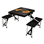 Picnic Time® Arizona State University Collegiate Foldable Table with Seats in Black