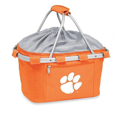 Picnic Time® Clemson University Collegiate Metro Basket in Orange