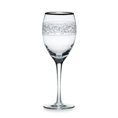 Mikasa® Parchment Platinum 9-Ounce Wine (Set of 4)