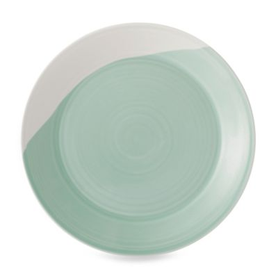 Green White Dinnerware Plates