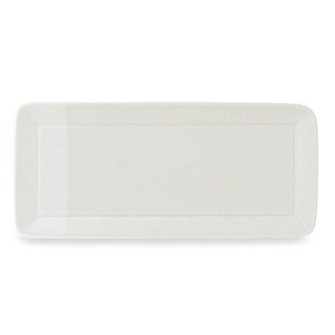 Royal Doulton® 1815 15 1/2-Inch x 7 1/5-Inch Rectangular Tray in White
