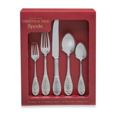 Spode® Christmas Tree 20-Piece Flatware Set