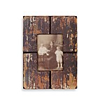 Barnwood Distressed Wood 5-Inch x 7-Inch Frame in Black