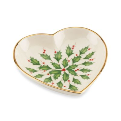 Lenox® Holiday™ Heart Dish