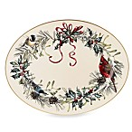 Lenox® Winter Greetings 16-Inch Oval Platter
