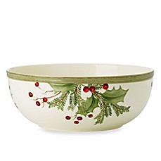 Lenox® Holiday Gatherings Holiday Berry Small Serving Bowl