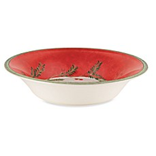 Lenox® Holiday GatheRings Holiday Wreath Pasta Rim/Soup Bowl
