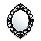 Baroque Mirror in Black