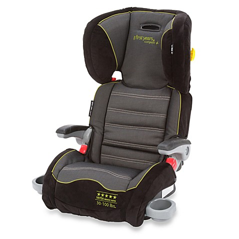 The First Years™ Compass B540 Booster Car Seat in Abstract Os Black & Green