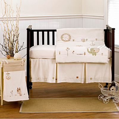Nature's Purest™ Sleepy Safari 4-Piece Crib Bedding Set