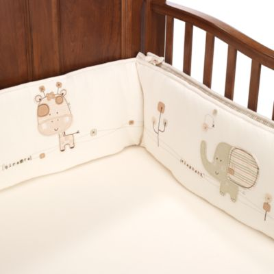 Nature's Purest™ Sleepy Safari Bumper Set