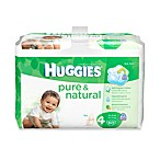 60-Count Huggies® Pure and Natural Size 4 Diapers