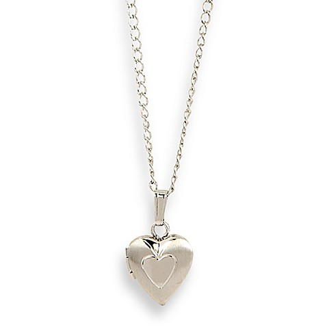 Elegant Baby® Heart Locket